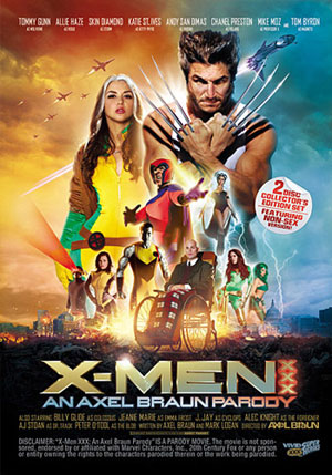 X-Men XXX: An Axel Braun Parody (2 Disc Set)