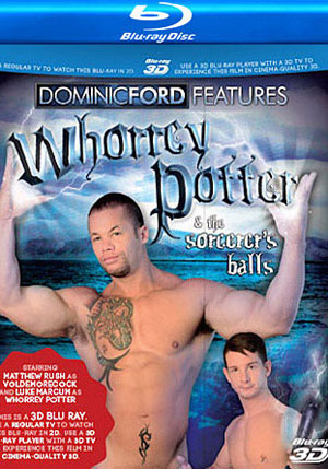 Whorrey Potter & The Sorcerer's Balls (3D Blu-Ray + 2D Blu-Ray)
