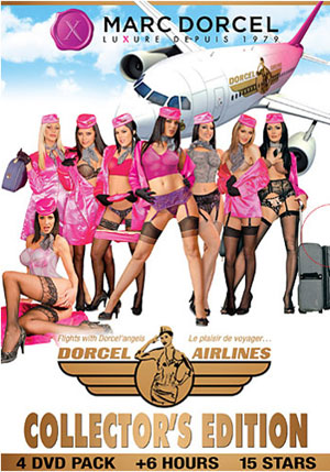 Dorcel Airlines Collector's Edition 4 DVD Pack (4 Disc Set)