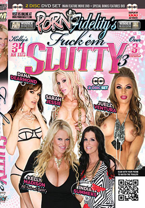 Fuck 'Em Slutty 3 (2 DIsc Set)