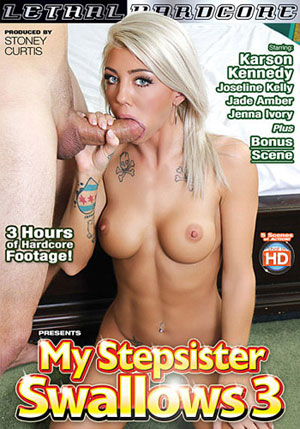 My Stepsister Swallows 3