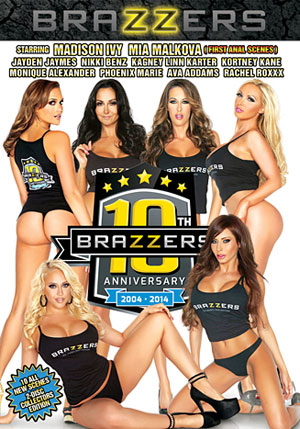 Brazzers 10th Anniversary (2 Disc Set)
