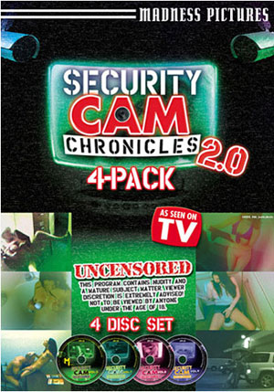 Security Cam Chronicles 4 Pack 2 (4 Disc Set)