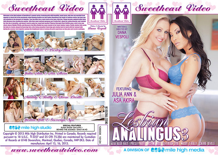 Lesbian analingus dvd vod