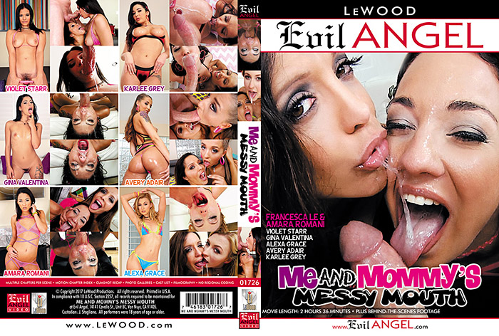 Me And Mommy's Messy Mouth Adult Movie