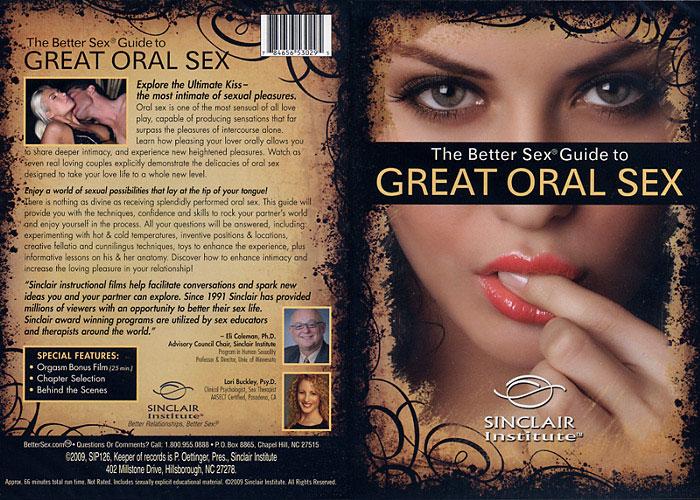 Better oral sex technique dvd