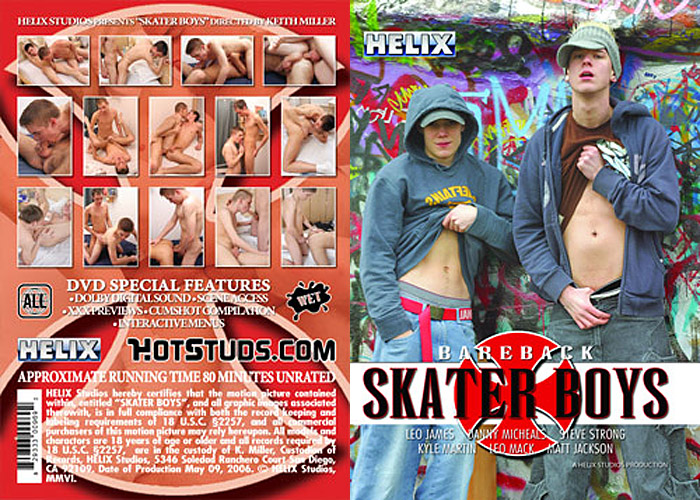 Bareback Skater Boys (HS-23) Adult Movie