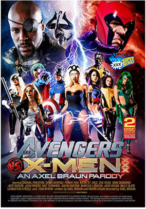 Avengers Vs X-Men XXX: An Axel Braun Parody (2 Disc Set)