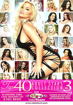 Top 40 Adult Stars Collection 3 (2 Disc Set)