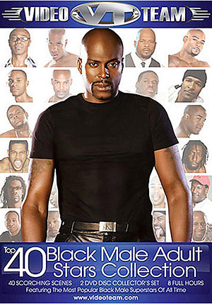 Top 40 Black Male Adult Stars Collection (2 Disc Set)