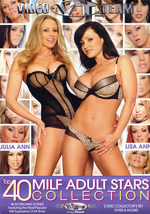 Top 40 MILF Adult Stars Collection (2 Disc Set)
