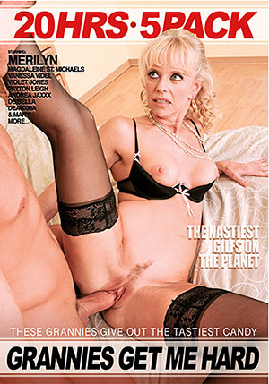 Grannies Get Me Hard 5 Pack (5 Disc Set)