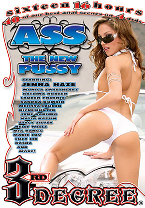 Ass The New Pussy 1 (4 Disc Set)