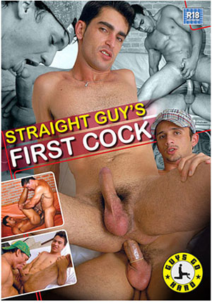 Straight Guy's First Cock
