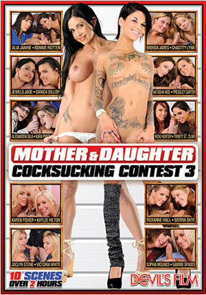 Mother & Daughter Cocksucking Contest 3