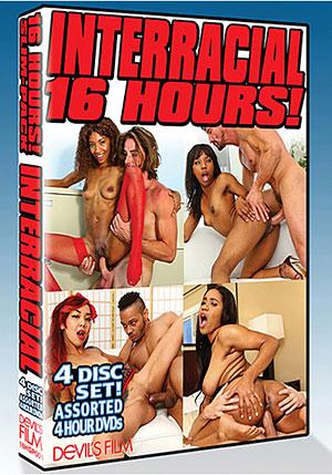 Interracial 16 Hours (4 Disc Set)
