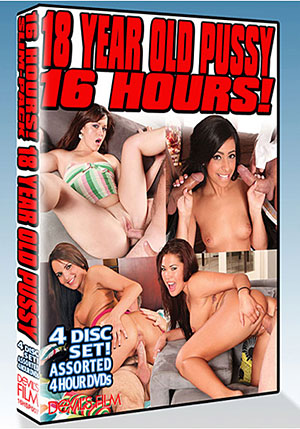 18 Year Old Pussy 16 Hour (4 Disc Set)