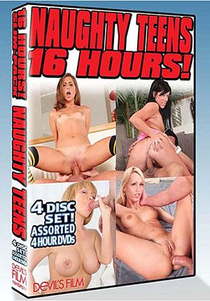 Naughty Teens 16 Hour (4 Disc Set)