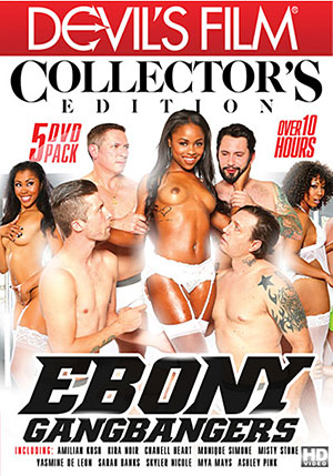 Ebony Gangbangers: Collector's Edition (5 Disc Set)