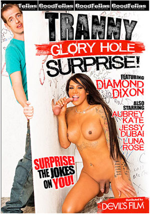 Tranny Glory Hole Surprise 1