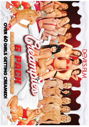 Creampies 6 Pack (6 Disc Set)