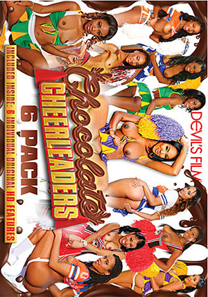 Chocolate Cheerleaders 6 Pack (6 Disc Set)