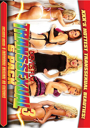 Transsexual 6 Pack 3 (6 Disc Set)