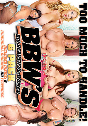 BBWs: Big Beautiful Women (6 Disc Set)