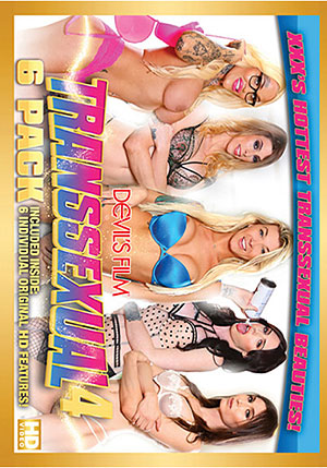 Transsexual 6 Pack 4 (6 Disc Set)