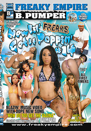New Lil' Freaks Get It Poppin' 14 (2 Disc Set)