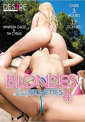 Blondes Licking Brunettes 4