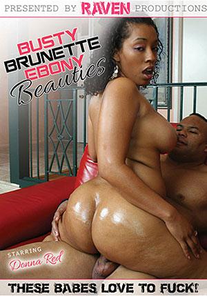 Busty Brunette Ebony Beauties