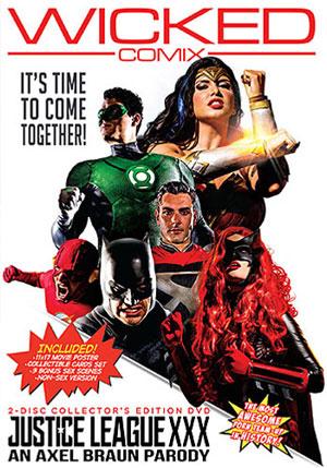 Justice League XXX: An Axel Braun Parody (2 Disc Set)