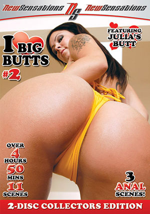 I Love Big Butts 2 (2 Disc Set)