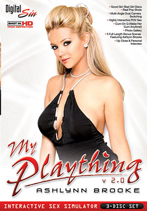 My Plaything Ashlynn Brooke (3 Disc Set)