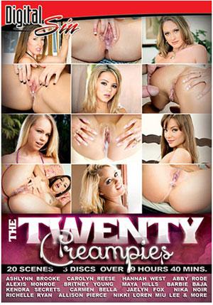 The Twenty: Creampies (3 Disc Set)