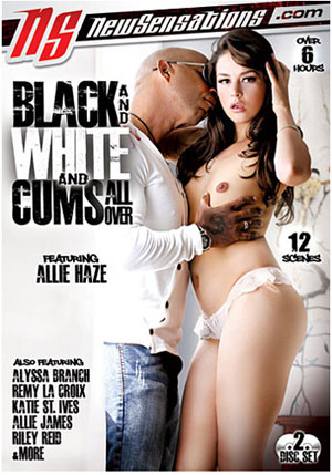 Black And White And Cums All Over (2 Disc Set)