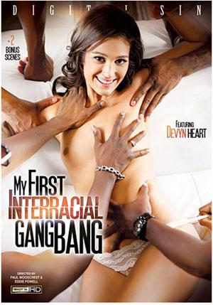 My First Interracial Gang Bang