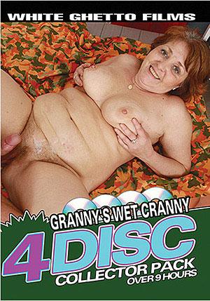Granny's Wet Cranny (4 Disc Set)
