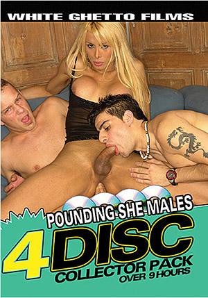Pounding She Males (4 Disc Set)