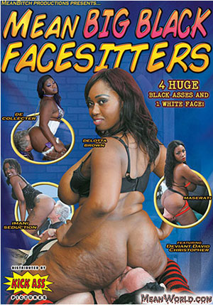 Mean Big Black Facesitters 1