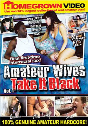 Amateur Wives Take It Black