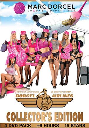 Dorcel Airlines Collector's Edition 4 DVD Pack (4 Disc Set)