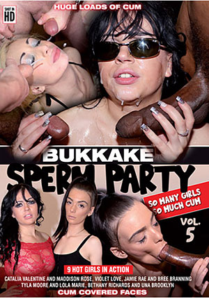 Bukkake Sperm Party 5
