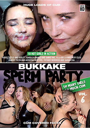 Bukkake Sperm Party 6