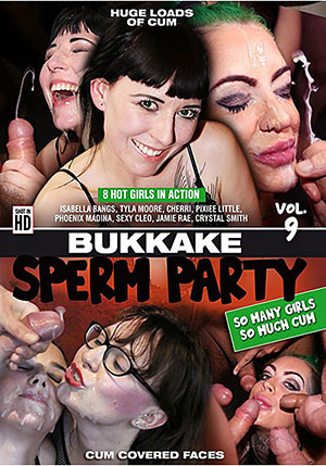 Bukkake Sperm Party 9