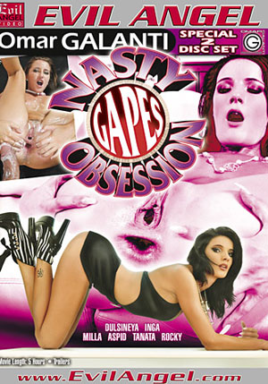 Nasty Gapes Obsession (2 Disc Set)