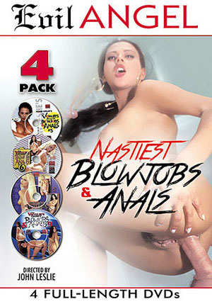 Nastiest Blowjobs & Anals (4 Disc Set)