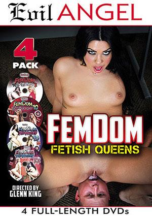FemDom Fetish Queens (4 Disc Set)