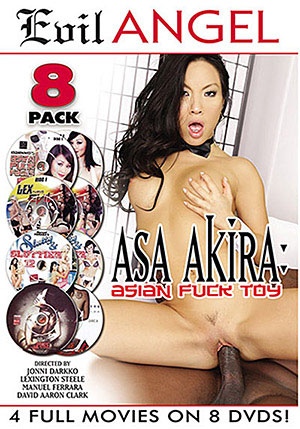 Asa Akira: Asian Fuck Toy (8 Disc Set)